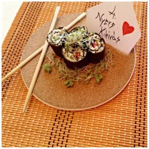 Vegán sushi